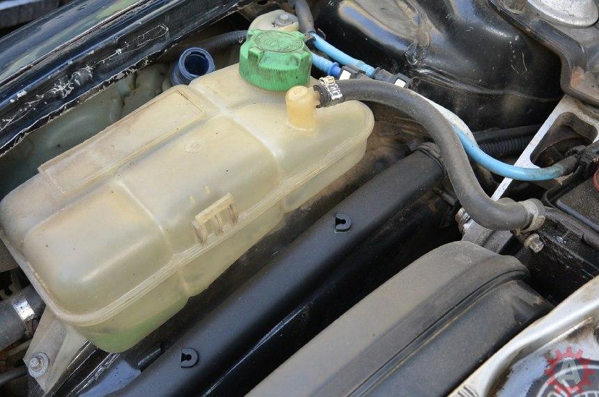 deposito líquido refrigerante